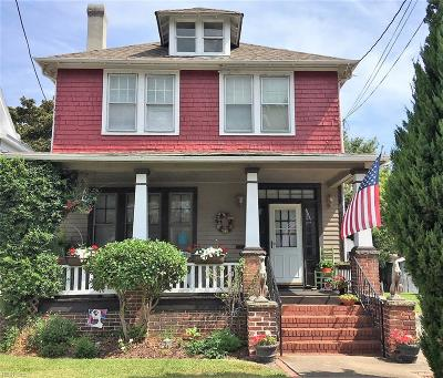 Portsmouth Single Family Home New Listing: 1040 Leckie St