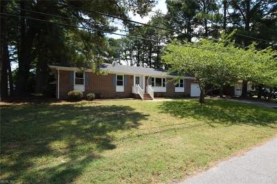 Portsmouth Single Family Home New Listing: 4209 Quince Rd