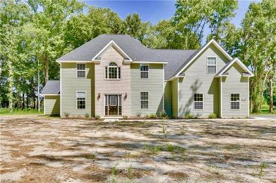 Suffolk Single Family Home For Sale: 4601 Bennetts Pasture Rd