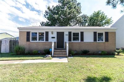 Hampton Single Family Home New Listing: 308 Long Creek Ln