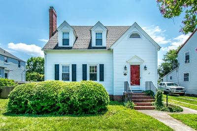 Hampton Single Family Home New Listing: 2222 Crescent Dr