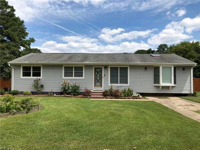 Chesapeake Single Family Home New Listing: 910 Wadena Rd