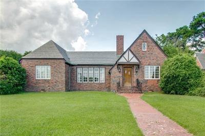 Norfolk Single Family Home New Listing: 501 Mayflower Rd