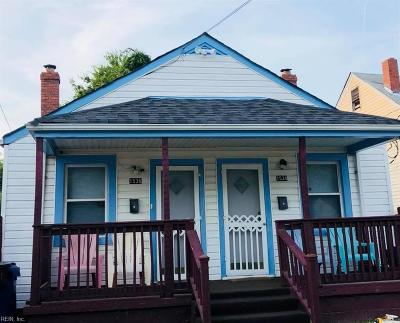 Portsmouth Single Family Home New Listing: 1536 Wilcox Ave