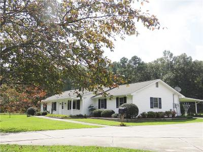 Suffolk Single Family Home New Listing: 225 Babbtown Rd