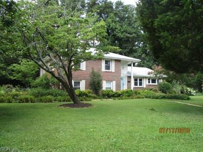 Virginia Beach Single Family Home New Listing: 2309 Indian Hill Rd