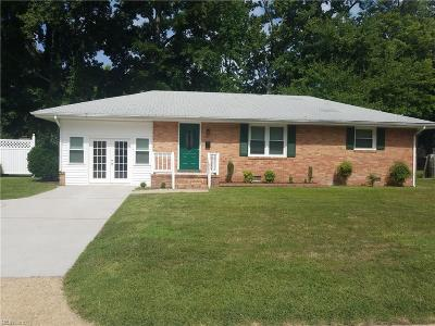 Hampton Single Family Home New Listing: 821 Big Bethel Rd