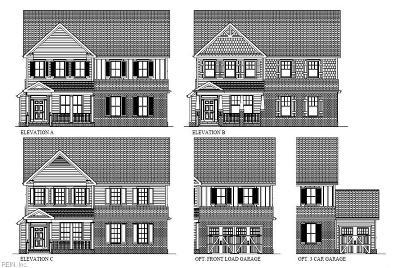 Chesapeake Single Family Home Under Contract: 1712 Travertine Way