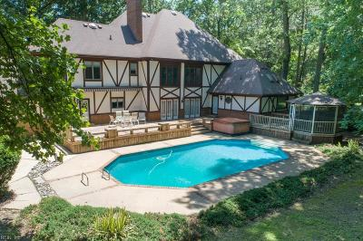 Chesapeake Single Family Home New Listing: 521 Woodards Ford Rd