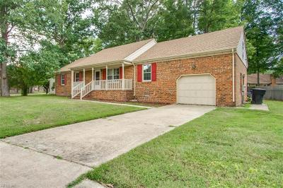 Portsmouth Single Family Home New Listing: 3912 Kalona Rd