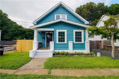Chesapeake Single Family Home New Listing: 917 Godwin Ave