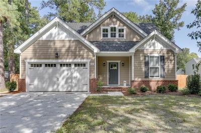 Chesapeake Single Family Home New Listing: Mm Cedar 2 Seven Eleven Rd