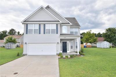 Chesapeake Single Family Home New Listing: 664 Annaka Loop