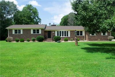 Suffolk Single Family Home New Listing: 1913 Carolina Rd