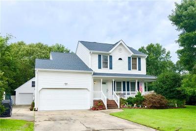 Chesapeake Single Family Home New Listing: 4604 Burkett Ct