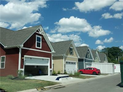Chesapeake Single Family Home Under Contract: 1814 Zephyr Way