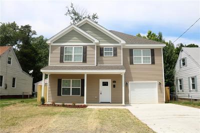Hampton Single Family Home New Listing: 614 Lee St