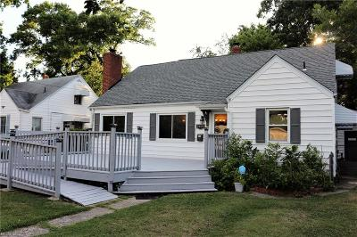 Norfolk Single Family Home New Listing: 3405 Somme Ave Ave