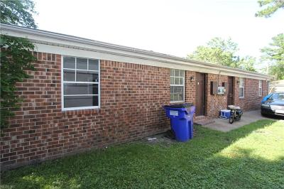 Norfolk Single Family Home New Listing: 1533 Palmetto St