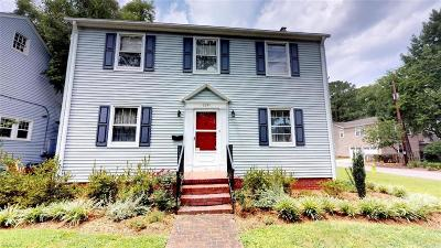 Norfolk Single Family Home New Listing: 6241 Rolfe Ave