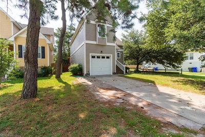 Norfolk Single Family Home New Listing: 9548 16th Bay St