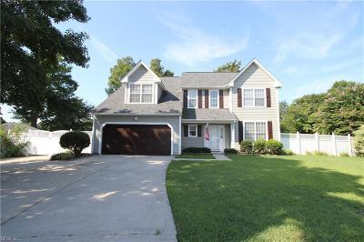 Chesapeake Single Family Home New Listing: 202 Winter Jasmine Ct