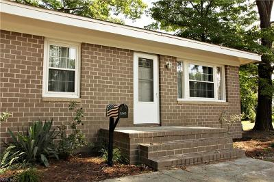 Norfolk Single Family Home New Listing: 2500 Woolsey St