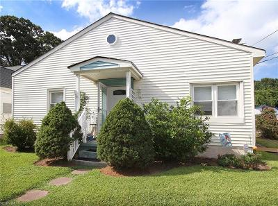 Norfolk Single Family Home New Listing: 208 E Lorengo Ave