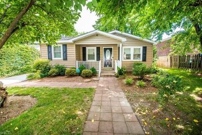 Norfolk Single Family Home New Listing: 527 Ashlawn Dr