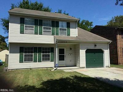 Norfolk Single Family Home New Listing: 1808 Lafayette Blvd