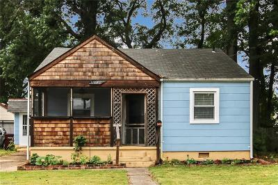 Chesapeake Single Family Home New Listing: 1105 Hughes Ave