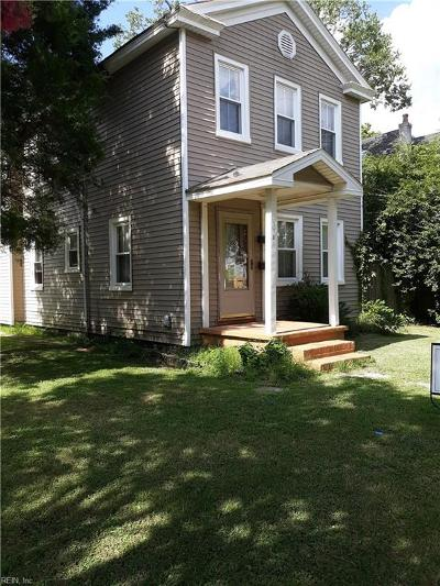 Chesapeake Multi Family Home For Sale: 1101 Park Ave