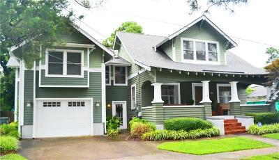 Norfolk Single Family Home Under Contract: 5421 Walton Ave