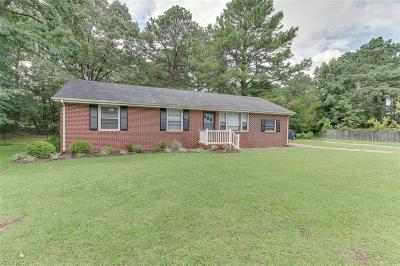 Western Branch Single Family Home Under Contract: 1736 Jolliff Rd