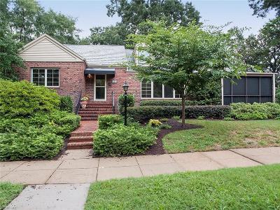 Norfolk Single Family Home For Sale: 1444 Graydon Pl