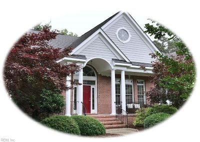 Williamsburg Single Family Home For Sale: 3025 River Reach