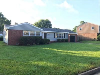Virginia Beach Single Family Home Under Contract: 420 Old Forge Ct