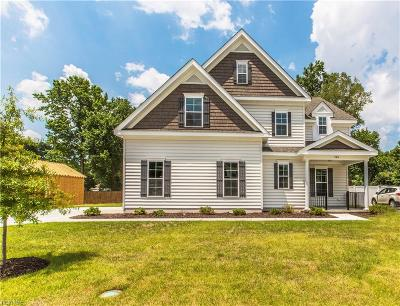 Western Branch Single Family Home For Sale: Mm Willow Ii Elizabeth Place Waterview Exec