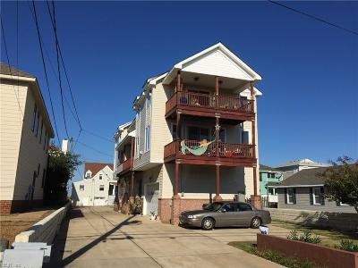 Norfolk Single Family Home For Sale: 760 W Ocean View Ave #B