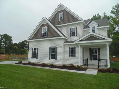 Western Branch Single Family Home For Sale: Mm Rosewood Ii Elizabeth Pl