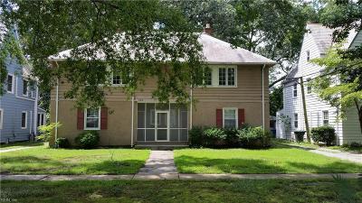 Newport News Single Family Home New Listing: 311 Hurley Ave