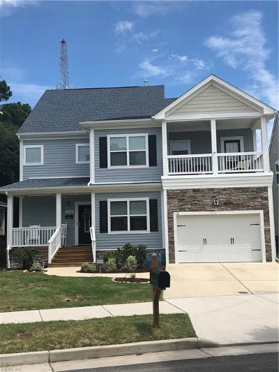 Norfolk Single Family Home For Sale: 3112 Pretty Lake Ave