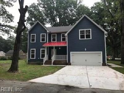 Hampton Single Family Home For Sale: 708 Beach Rd