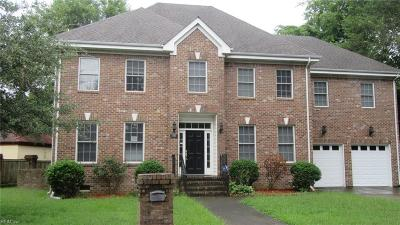 Norfolk Single Family Home For Sale: 1333 Baecher Ln