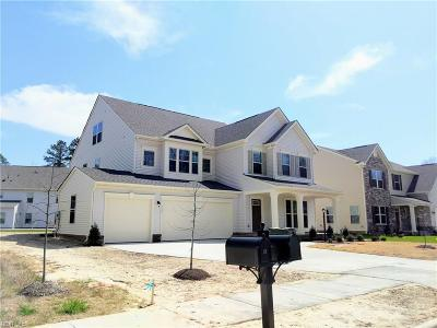Suffolk Single Family Home Under Contract: 112 Freedom Ln