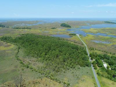 Northampton County, Accomack County Land/Farm For Sale: 22400 Youngs Creek Rd