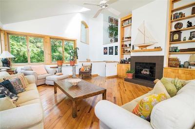 Sandbridge Beach Single Family Home Under Contract: 313 Pompano Ln