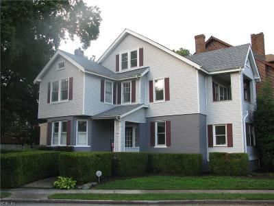 Norfolk Single Family Home For Sale: 4012 Newport Ave