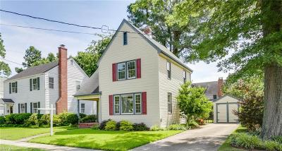 Norfolk Single Family Home For Sale: 6224 Powhatan Ave