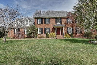 Virginia Beach Single Family Home For Sale: 1832 Templeton Ln